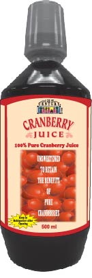 Cranberry Juice, 500 ml