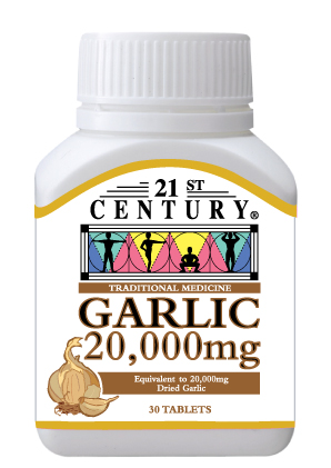 Garlic 20,000mg, Odourless, for good health