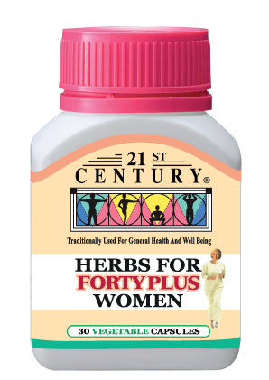 Herbs For Forty Plus Women - contains 10 herbs per capsule