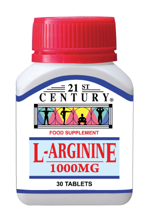 L-Arginine 1000mg, energy and stamina provider