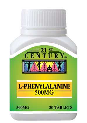L-Phenylalanine 500mg, natural health improver & enhancer 30s