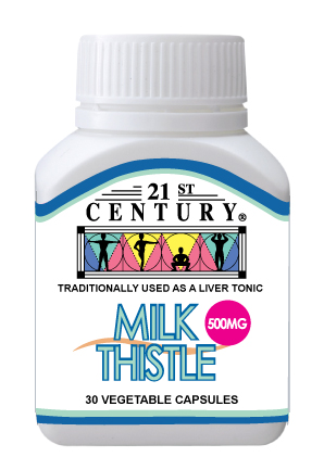 Milk Thistle 500mg, - Click Image to Close
