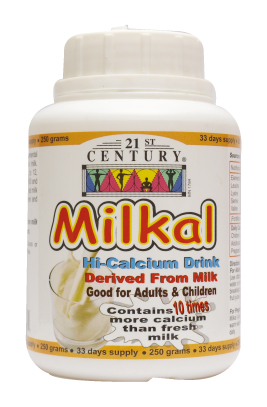 Milkal fortified Cow's Milk Powder with 10 times more calcium