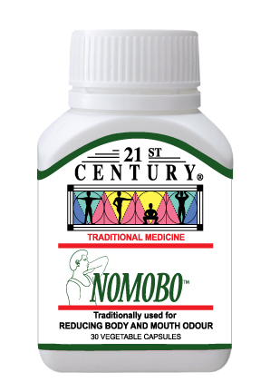 NoMoBo - No Mouth Odor & No Body Odor, herbal internal deodorant - Click Image to Close