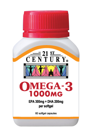 Omega 3 1000mg, Molecularly Distilled, No Toxins, Heavy Metals - Click Image to Close
