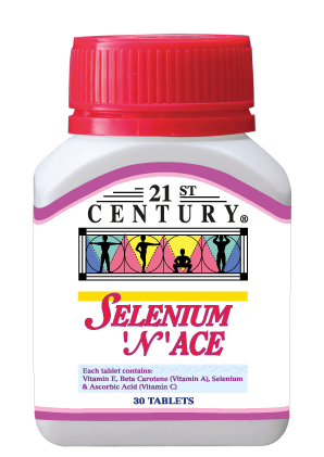 Selenium N ACE, anti-oxidant formulation