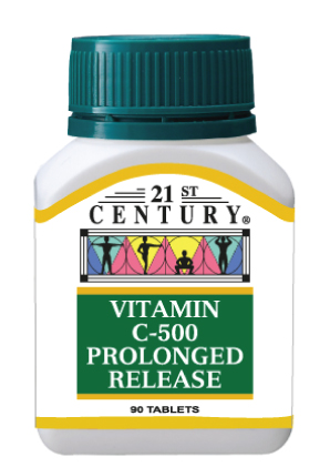 Vitamin C 500 - Prolonged Release - Click Image to Close